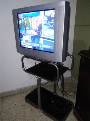 Televisor+ mesita, oferta combo!!!