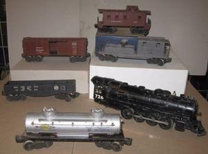 Tren Locomotora Lionel 726 Màs 5 Vagones Lionel Usa Trocha