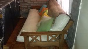 vendo futon de 3 cuerpos