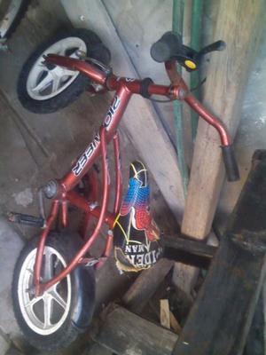 Bicicleta para chicos rodado 12 hay que agregarles pastullas