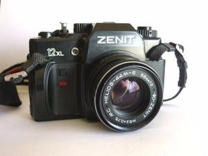 Camara Zenit soviética reflex 35 mm