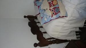 Juego dormitorio algarrobo