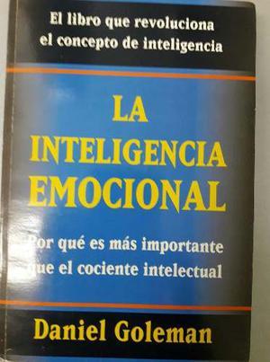 Libro La Inteligencia Emocional De D Goleman