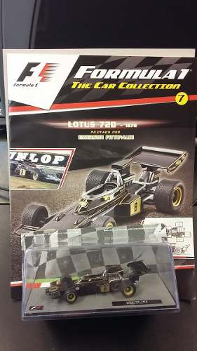 Lotus 72d  E Fititipaldi 1/43 Coleccion Formula 1 Salvat