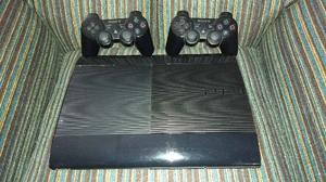 Playstation 3 impecable 500 gb. Con 2 joystick