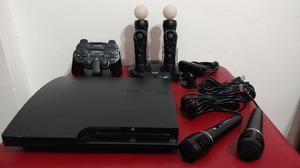 Playstation  Gb + Controles y Accesorios + 27 juegos