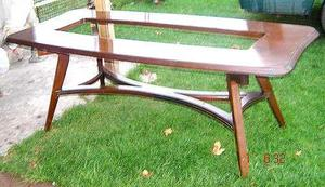 excelente mesa comedor de diseño retro vintage 60