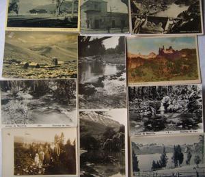 Postales Antiguas Argentinas - DIEZ y 1/2 - Venta En Lote