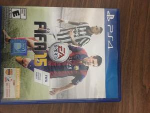 Vendo juego FIFA ps4