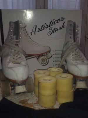 vendo patines artisticos marca stark excelente estado poco