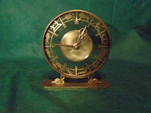 Antiguo Reloj De Mesa Marca Bayard