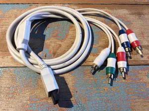 Cable Vídeo Componente Para Nintendo Wii Alta Definición