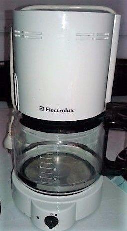 Cafetera Electrica Electrolux Con Filtro Blanca Excelente