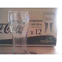 Caja de vasos de coca cola x12 unidades