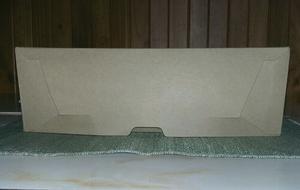 Cajas de cartón para archivo tamaño oficio.