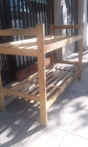 Cama Cucheta Marinera madera pino Lista para usar!! MIRALA