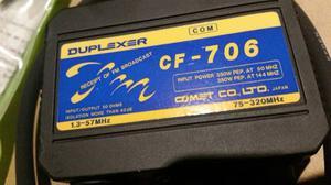 Duplexor Vhf..hf 50 Mhz Y 320 Mhz Comet. Japon. Hoy Remató