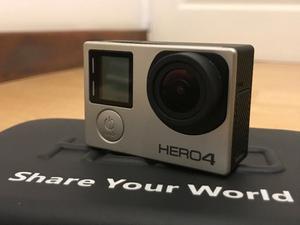 Go Pro Hero 4 Silver + Kit accesorios ($ dias de