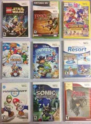 Juego Nintendo Wii Originales En Perfecto Estado