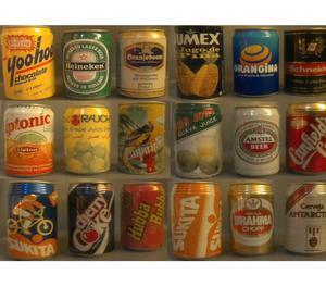 Lote latas antiguas