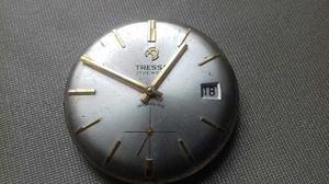Maquina Reloj Tressa 17 Jewels Funcionando