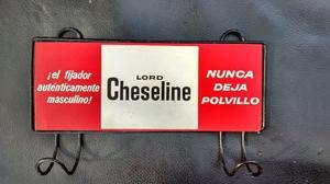 Perchero Antiguo con publicidad de Lord Cheseline