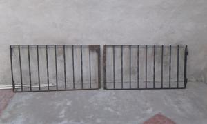 Reja portón bajo de hierro