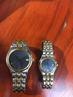 Reloj Bucherer Hombre Y Mujer Originales Suiza