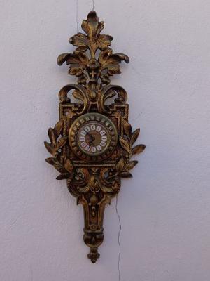 Un Impresionante Reloj De Pared En Bronce Macizo Alemán
