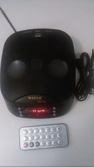 Vendo Radio lee pendrive con control
