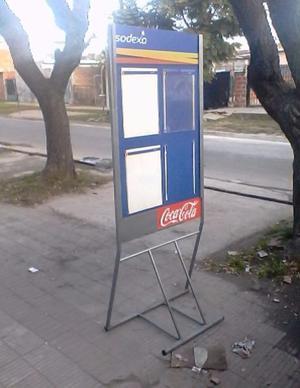 1 CARTEL,reforzado.p.../publicidad