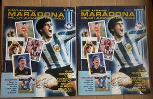 Album de Maradona completo + album de maradona sin completar