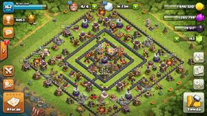Aldea clash of clans th11 full