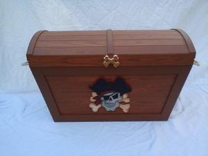 Baul Guarda Juguetes Tipo Cofre De Piratas!!