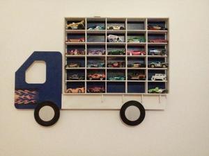 Camion Porta Autitos Colgante