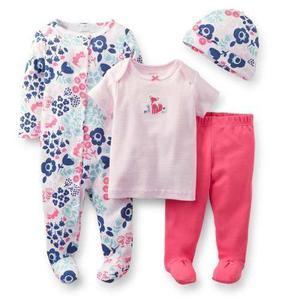 Conjuntos Carters Bebe Set Piezas Nena Importado Usa