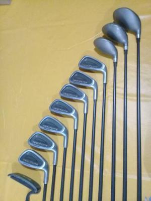 Palos De Golf Spalding C/bolsa H3 A H9 Maderas 1,3,5 Y Putt