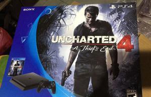 Ps4 slim 500gb + Uncharted 4 nueva en caja con garantía