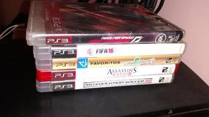 Vendo ps3 con sus accesorios + 5 juegos fisicos