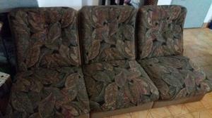 Vendo sillon de tres cuerpo usado en buena condiciones