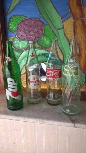 Botellas antiguas para coleccionistas o decoración
