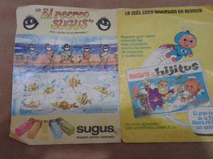 publicidad de revista aventura de hijitus y de caramelos