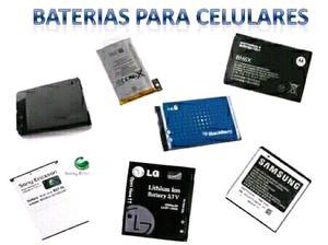 Baterías para celulares LEER MODELOS