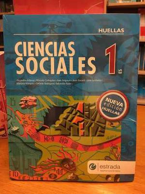 Ciencias Sociales 1 - Huellas - Nueva Edicion - Estrada