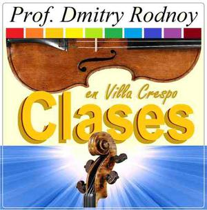 Clases De Violín - Prof. Dmitry Rodnoy