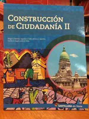 Construccion De Ciudadania 2 - Santillana En Linea