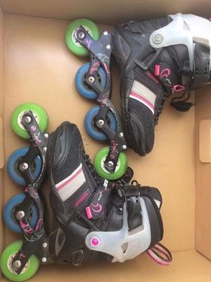 ROLLERS POWERSLIDE PHUZION PURE 3 OPORTUNIDAD!!