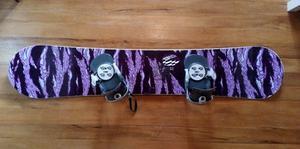 Tabla Snowboard Nitro Wide161 / Botas Vans / Fijaciones