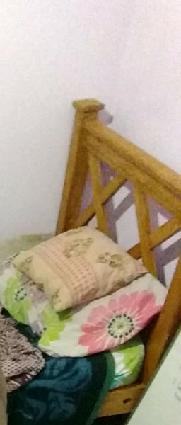 Cama 1 plaza pino macizo