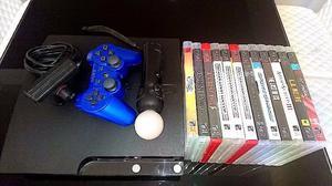 Consola Play Station GB + 1 Joystick +12 juegos + Kit